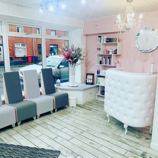 Phoebe's Salon Waiting Area
