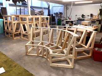 Una Vita Bench Frames
