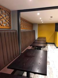 Mumbai Kitchen High Back Benches