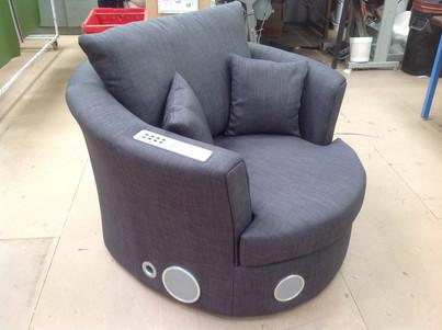 Audio Tech Swivel Chair Prototype