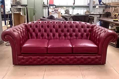 Finished Chesterfield