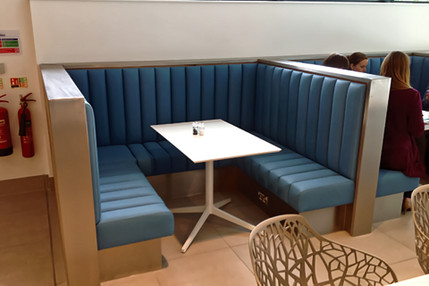 Fluted Bench Seating