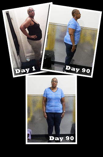 90 day challenge results before and after pics