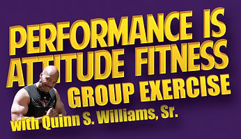 Performance Is Attitude Group Exercise