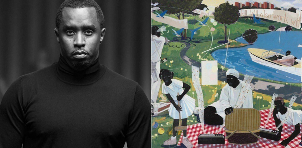 Sean Combs acquires Kerry James Marshall painting for $21Million