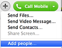 skype call mobile add people