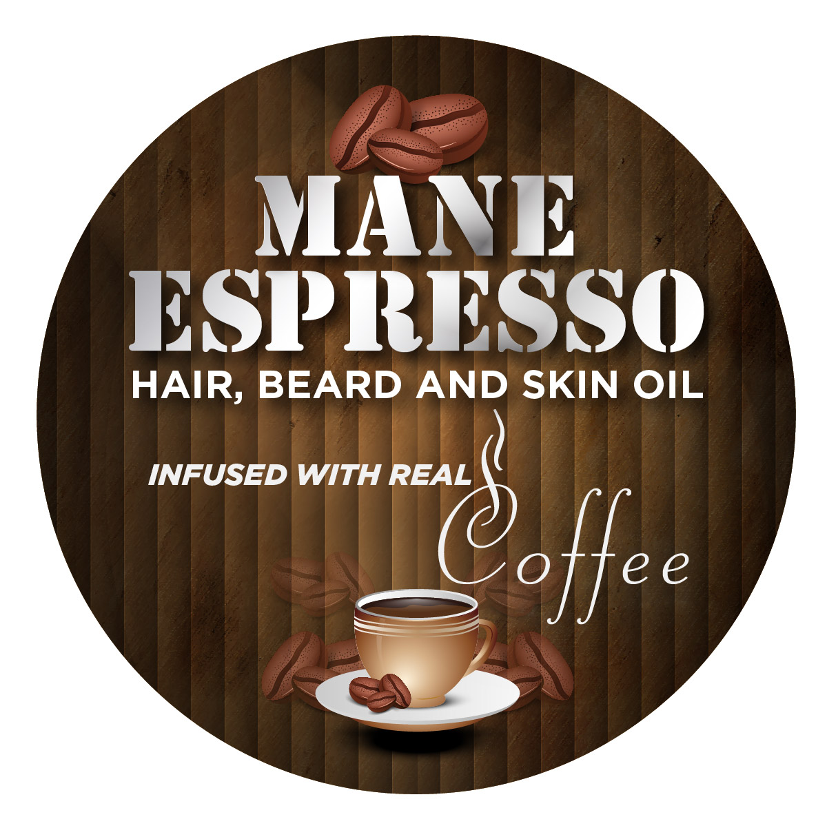 Mane Espresso® Circle Label