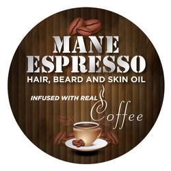 Mane Espresso® Circle Label