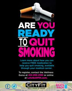 Let's Quit Pitt Campaign Poster