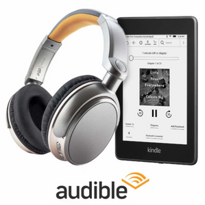 All-new Kindle Paperwhite (with Special Offers), Wireless Bluetooth Stereo Headphones, and Audible 3 Month Free Trial