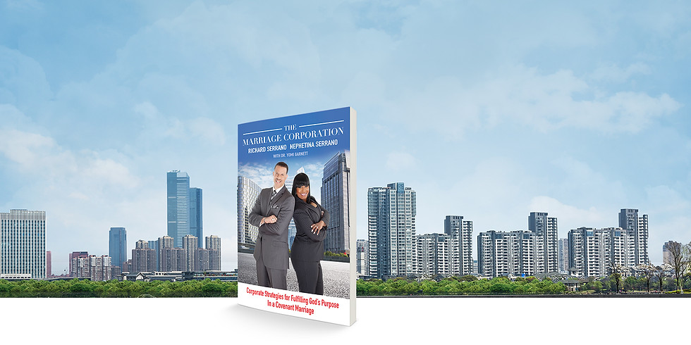 THE MARRIAGE CORPORATION Book Signing