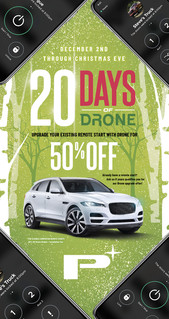 20 Days of Drone holiday promo