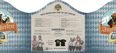 Augtoberfest specials menu