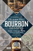 Bourbon Dinner promo poster