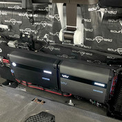 Dalton utilizes SoundShield in his integrated, professionally wired installs such as this 2016 Ford F350 King Ranch truck.