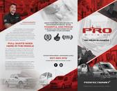 PRO Division trifold outside