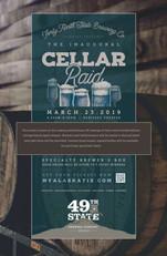 Cellar Raid promo poster