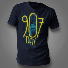 2018 907 Day tshirt design