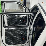 Dalton's 2018 Dodge Ram with full SoundShield treatment.