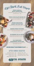 Dessert Menu update design