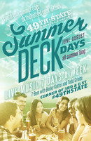 Summer Deck Days promo poster