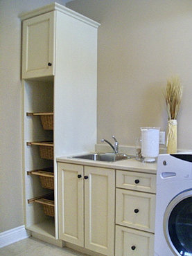 Ottawa Closet, Laundry, Built In Cabinets