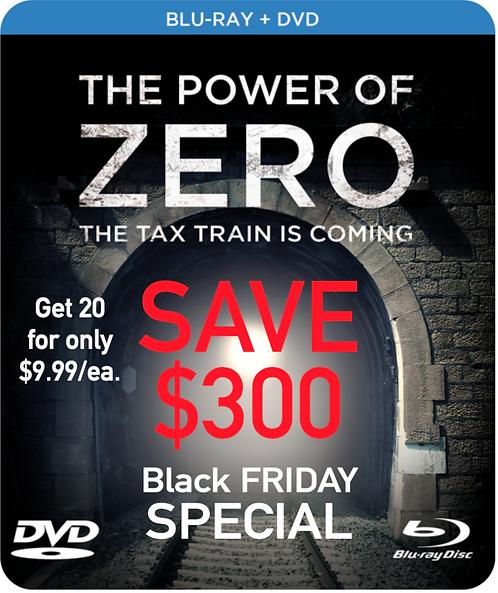 """""""Power Of Zero"""" Movie - 20 copies ($24.99/ea.)"""