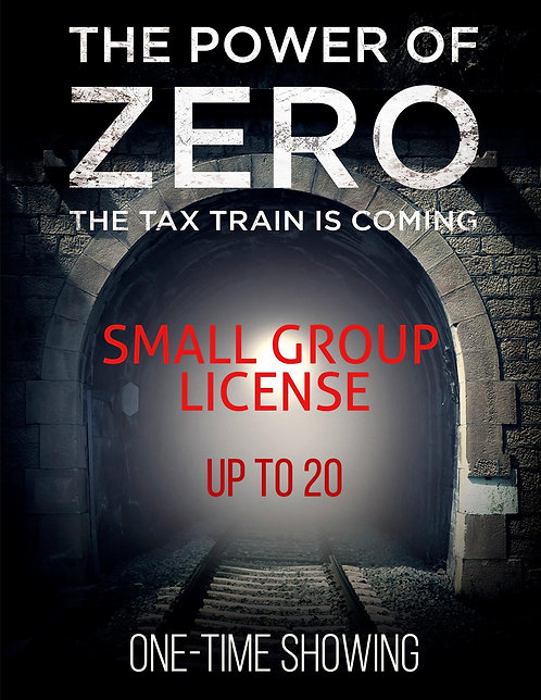 License for Small Group Showing (20 or less)