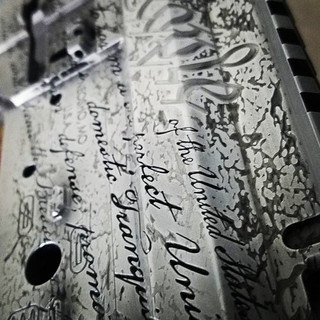 Right to Bear Arms Custom Engraving