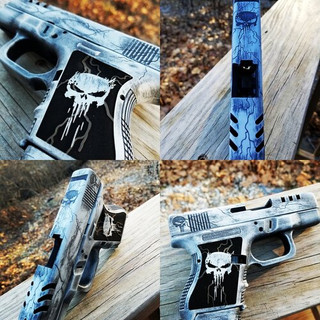 Custom Punisher Glock