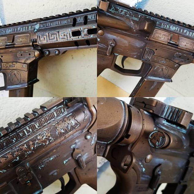 Spartan AR Pistol