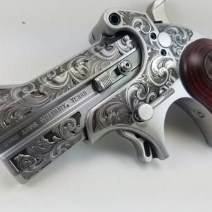 Bond Arms Custom Scroll Work