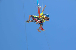 Saddle Sling 2 Boys Flying