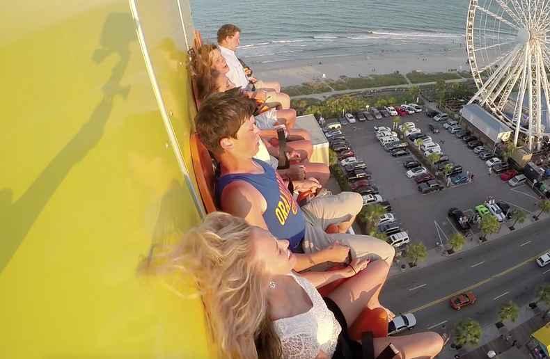 Myrtle Beach Daring Drop Falling