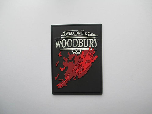 "Walking Dead Series #2: ""Woodbury"" PVC Patch"