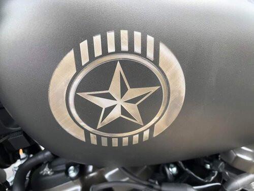 Custom Harley Gas Tank