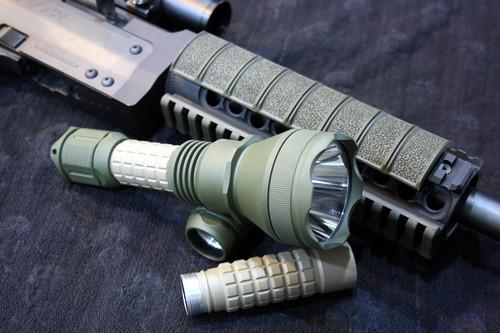 Two Tone Custom Flashlight