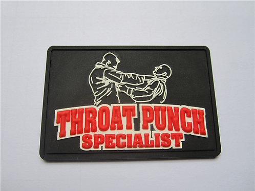 Throat Punch Specialist PVC Patch