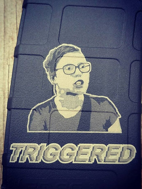 """Triggered"" Engraving on PMAG"