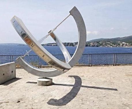 Reloj ecuatorial armillar