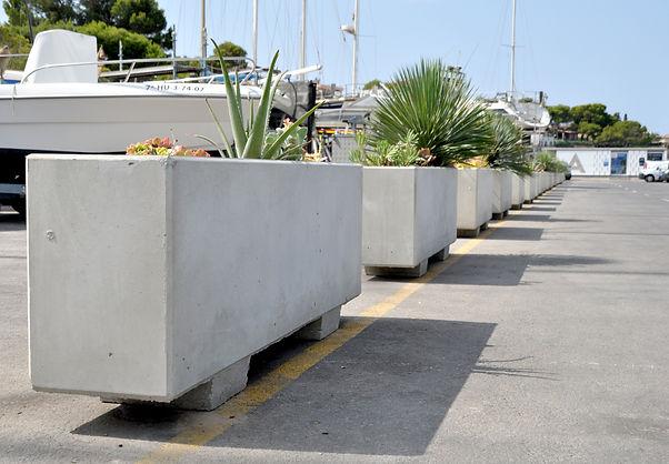 Jardineras prefabricadas CNA- Fimar Futur, S.L.