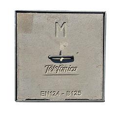Tapa homologada arqueta telefónica tipo M- Fimar Futur S.L.