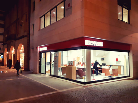 Newest Sparkasse branch in Padova!