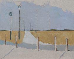 Path and Lamps across Blackheath