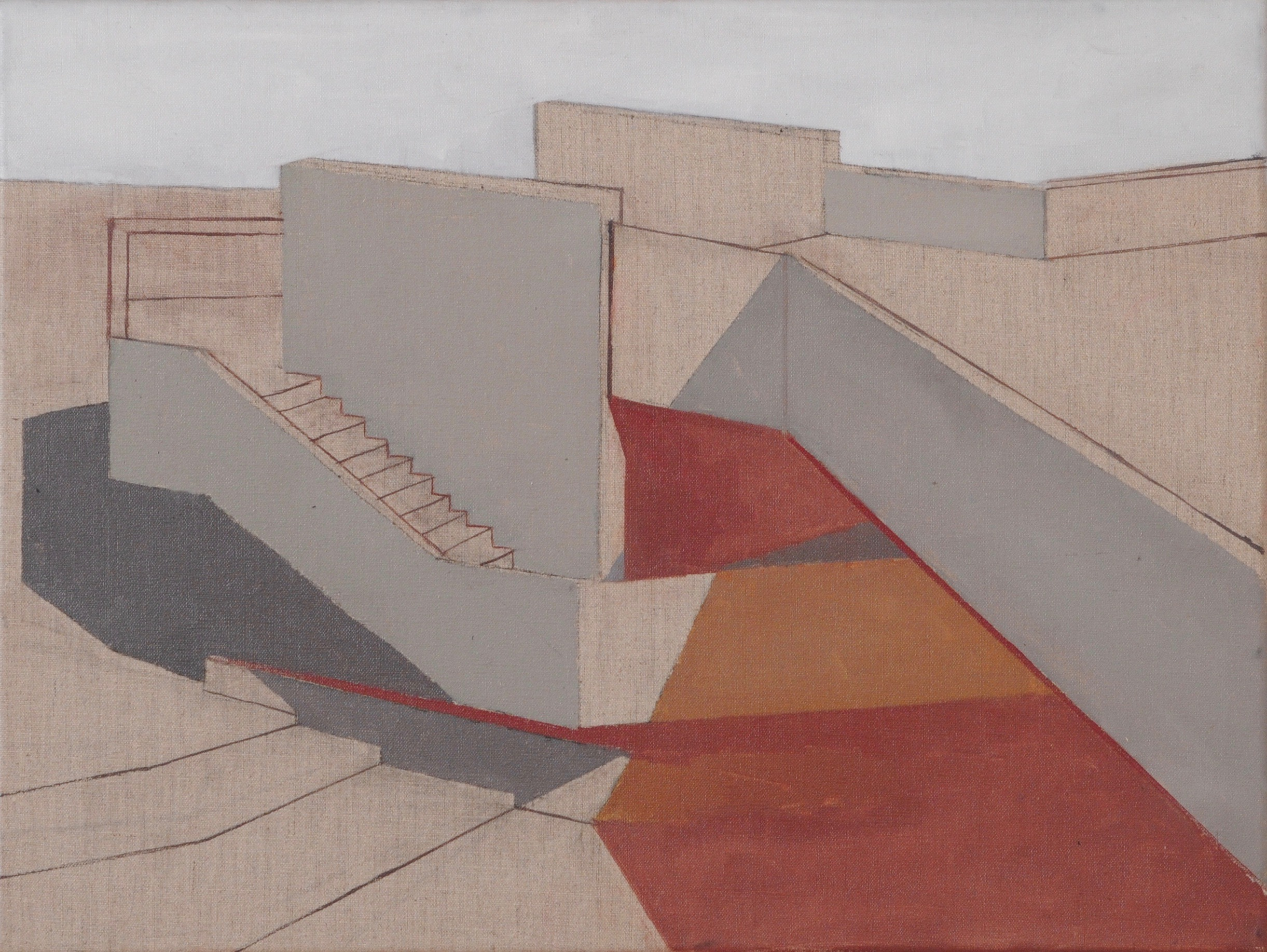'Stairs and Bridge at the National Theatre'