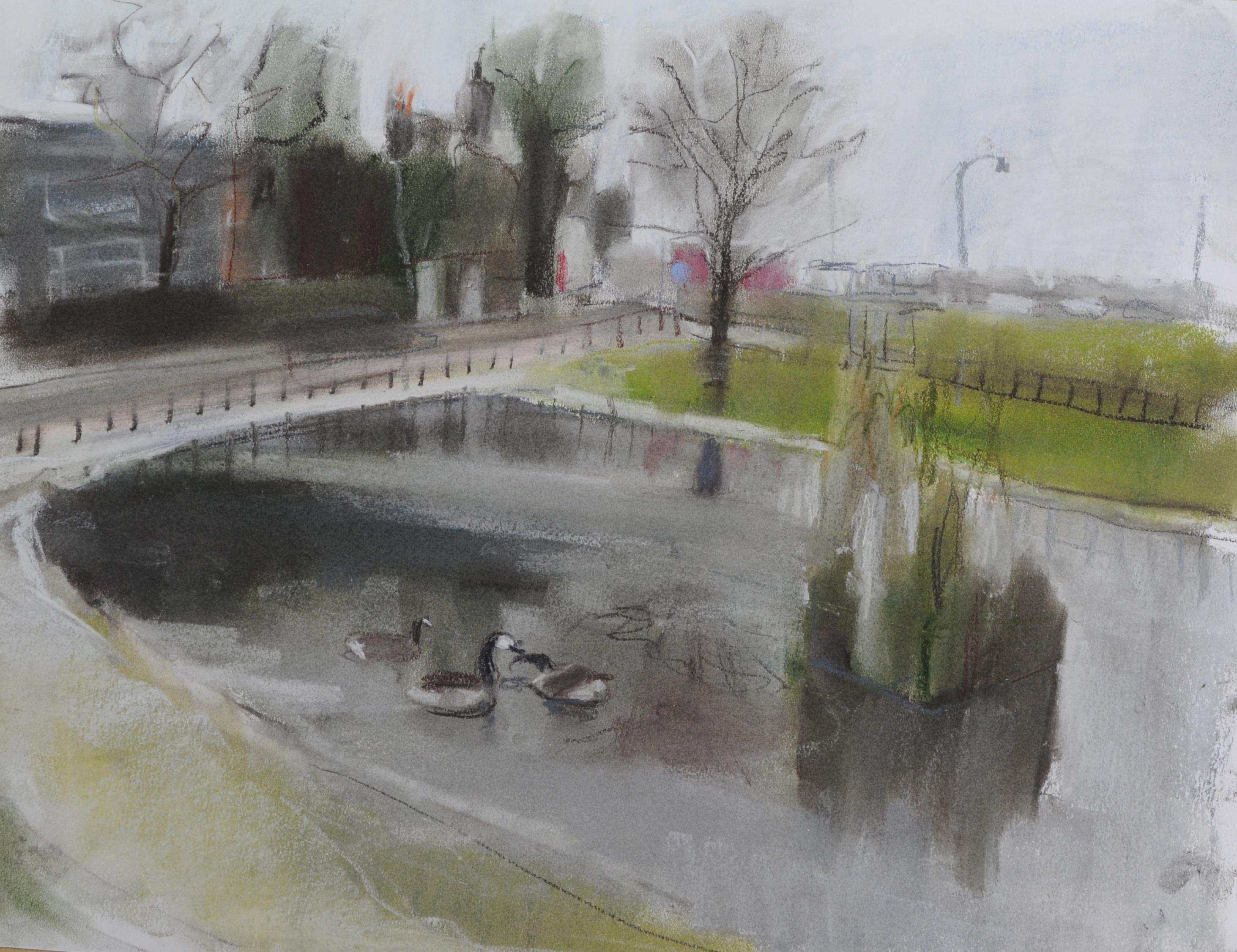 Blackheath Pond, Winter
