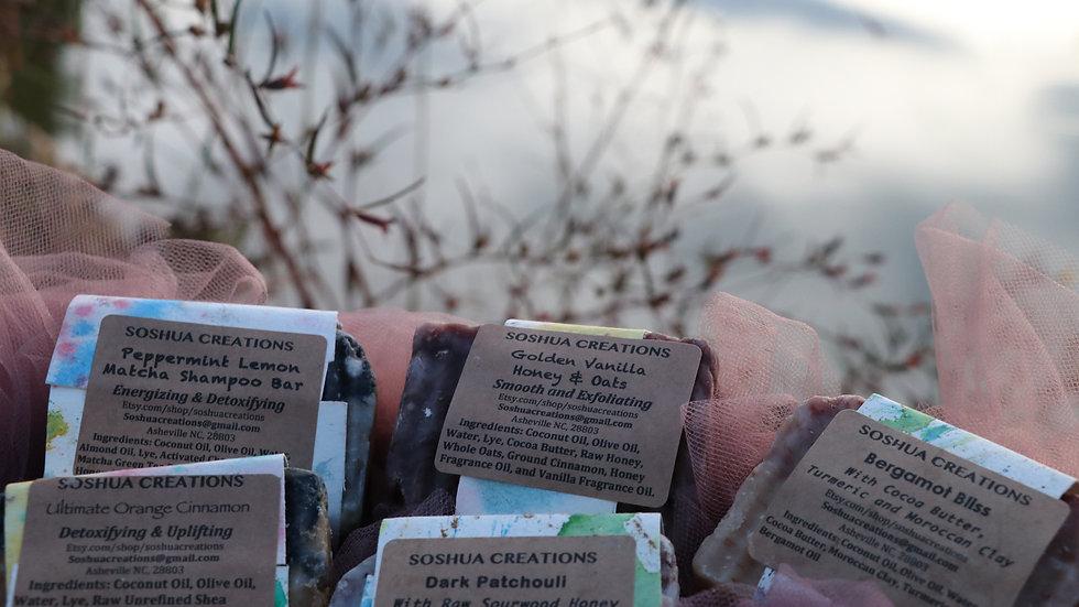 Four Soap Sampler Pack