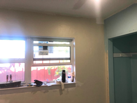 Here is the before and after. Great project for an Airbnb property for rent.
