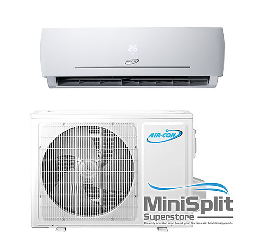 24 K BTU 220 VOLT BLUE SERIES 21 SEER Ductless Mini Split A/C Inverter 2 Ton