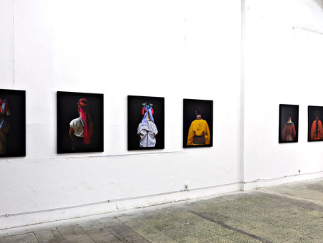 Averted Portraits on show in China